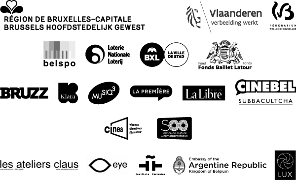CINEMATEK THANKS ITS PARTNERS FOR THEIR SUPPORT